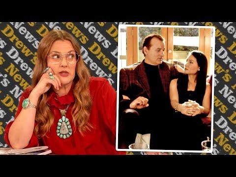 Drew Explains Lucy Liu's Clash with Bill Murray on Charlies Angels Set   Drew's News