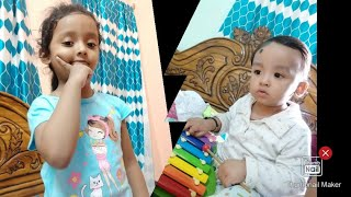 Kid Teaching a kid: Eye Catching Free-time Funny Moment for YouTube Kids By Cute Kids (Youtube Time)