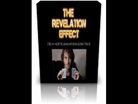 How To Do The Revelation Effect: REVEALED: Underground Mind Reading Secrets