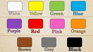 English Colors الالوان الانجليزية Youtube