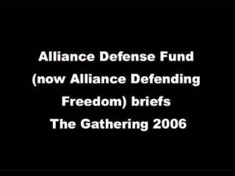 Alliance Defense Fund, The Gathering 2006
