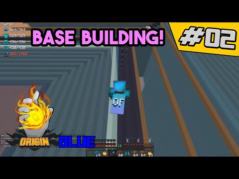 Starting to work on the base!! | OriginMC Blue #2 (Minecraft Factions)