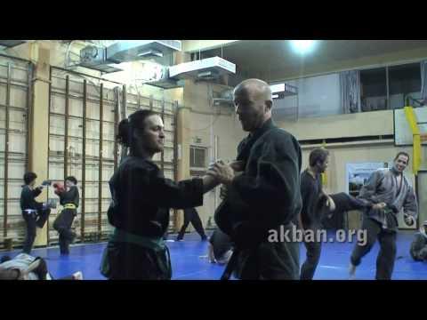 How to do Omote gyaku hand lock in sparring, intermediate - Ninjutsu technique Akban wiki
