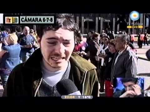 678 - El pueblo llora a Néstor Kirchner 29-10-10
