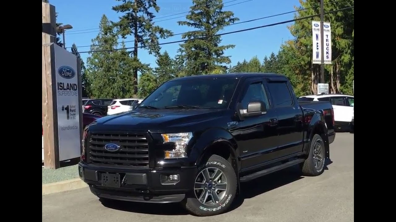 2016 ford f 150 xlt fx4 sport supercrew 4x4 w console review island ford youtube. Black Bedroom Furniture Sets. Home Design Ideas