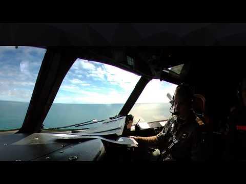 Flying aboard German Navy P3C