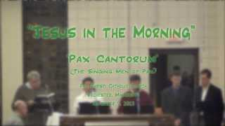 """Jesus In The Morning"" (African American) -"