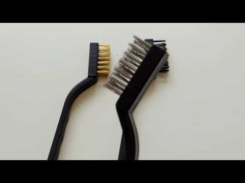WLXY 3PCS Steel Brass Nylon Bristle Wire Brush For Cleaning from Gearbest.com