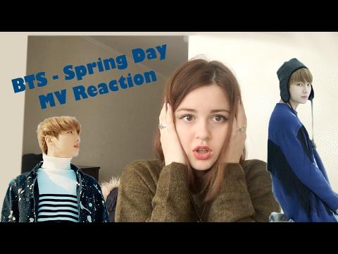 BTS (방탄소년단) Spring Day Reaction Video (You Never Walk Alone Album)