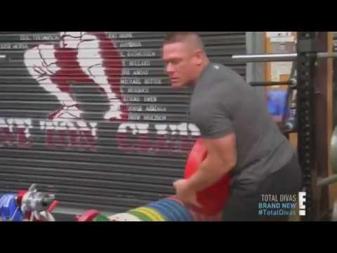 John cena beats Nikki in every competition!!!!😱
