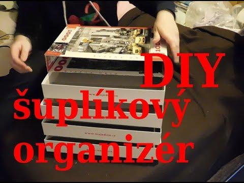 DIY šuplíkový (zásuvkový) organizér    DIY Drawer organizer