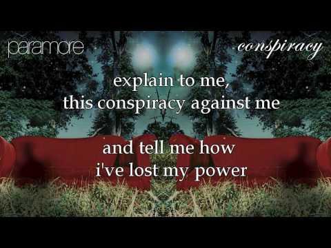 Paramore - Conspiracy [Karaoke/Instrumental]
