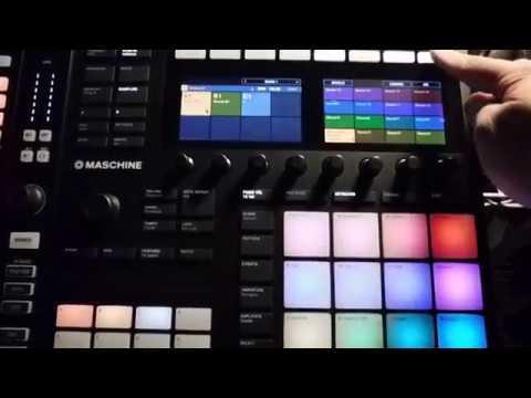 DJ Divine Justice  demos Sample Slicing on Machine MK3