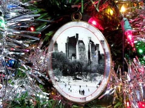 New York Christmas Ornament - Wollman Rink in Central Park