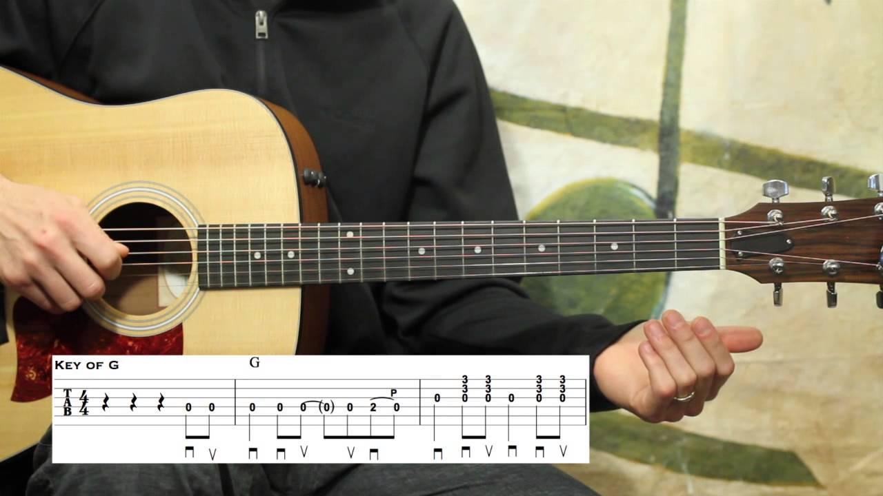 I Saw The Light Beginner Guitar Lesson Youtube