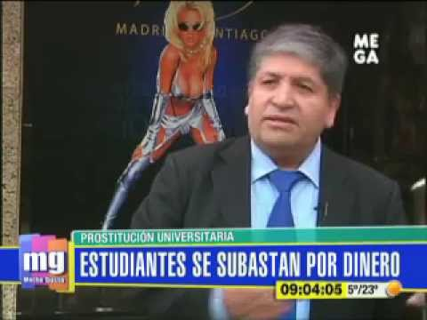 Prostitución universitaria, estudiantes se subastan por dinero - Mucho Gusto - 10/06/2013 - Mega