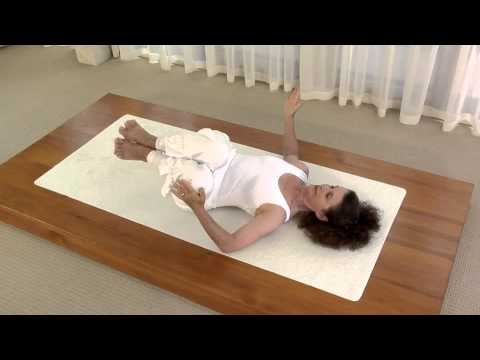 CROCODILE SEQUENCE for your BACK Yoga to Health with Louise Wiggins