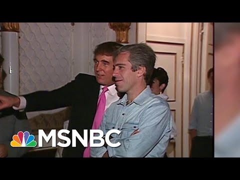 1992 Video Shows Trump Hosting Jeffrey Epstein At Mar-A-Lago   All In   MSNBC