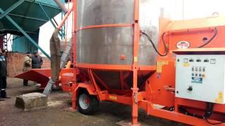 Мобильная зерносушилка Agrex PRT 250 ME