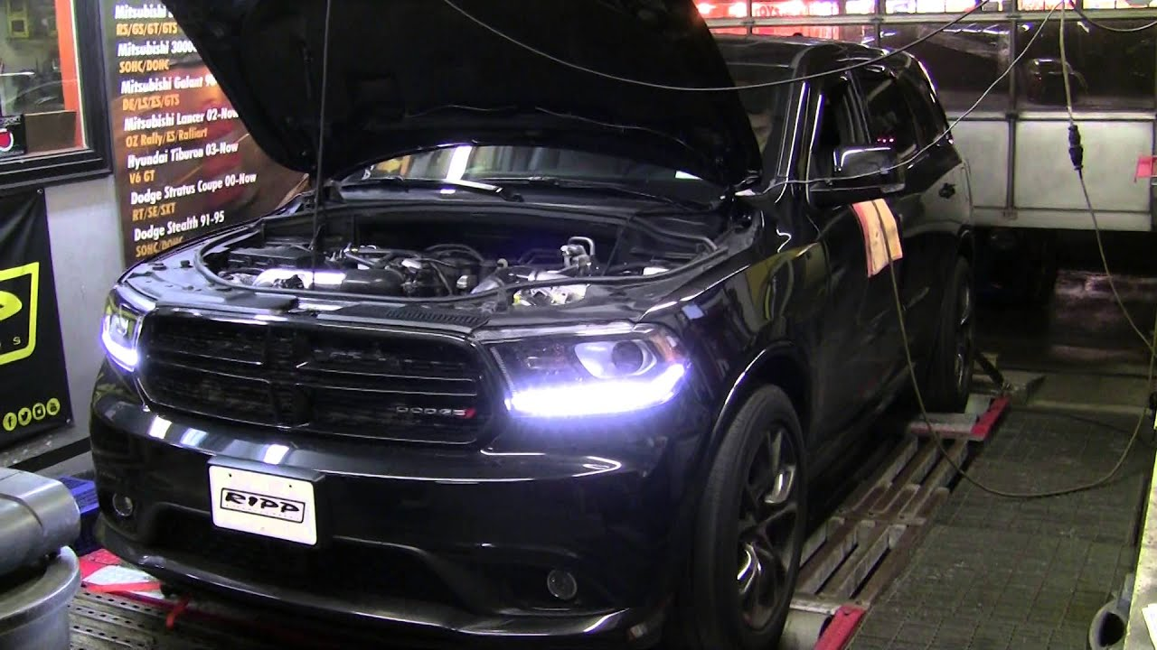 Ripp Supercharged 2014 Dodge Durango 5 7 Dyno Youtube