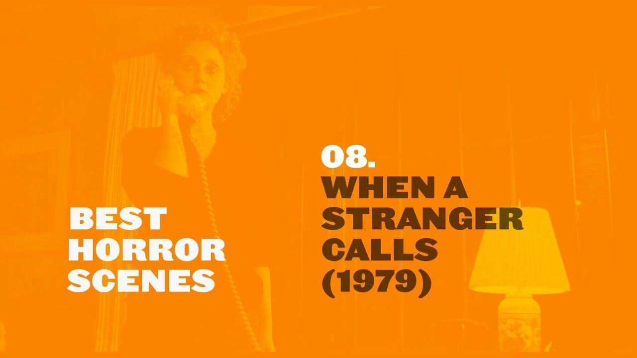 Best Horror Scenes When A Stranger Calls 1979 Youtube