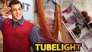 Salman Khan की TUBELIGHT मूवी का Fans में दिखा CRAZE | 5 तश्वीरे दे...