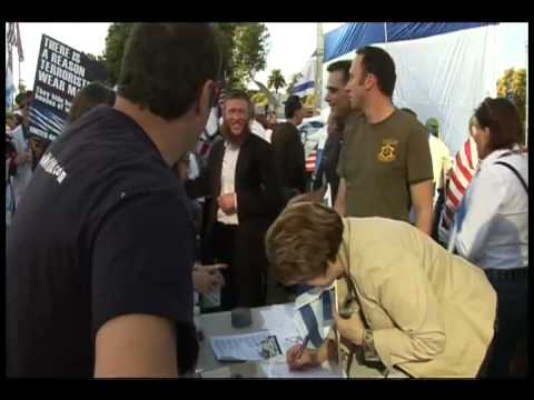 Pro-Israel Rally in Los Angeles - Israeli Leadership Council (ILC)