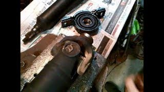 How to Replace Tail-Shaft Centre Bearing