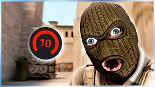 CS:GO FACEIT Level 10 Funny Moments #14