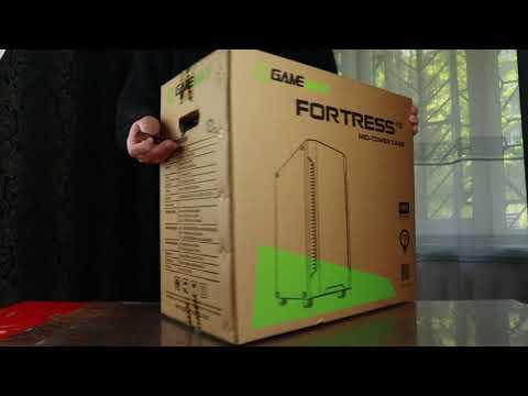 Корпус GameMax Fortress TG Black