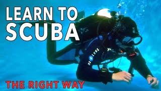 LEARN TO SCUBA DIVE OPEN WATER with UTD