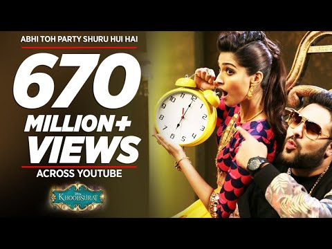 Mix - 'Abhi Toh Party Shuru Hui Hai' FULL VIDEO Song | Khoobsurat | Badshah | Aastha