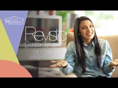 Revista Casa Master Decoração de Salas  - Com Mylena Tedeshi