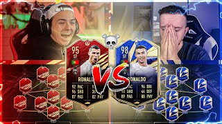 DDDUELL!! TOTY RONALDO VS 95er IF RONALDO (rot) Squad Builder Battle FIFA 21