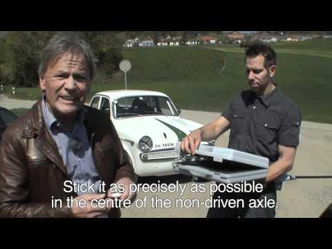 Insoric RealPower: Messfahrt Marc Surer