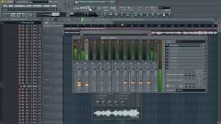 Vídeo Aulas FL Studio 11  Nova Tecnica de Extrair Acapella no FL Studio 11