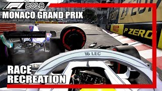 F1 2017 GAME: RECREATING THE 2018 MONACO GRAND PRIX