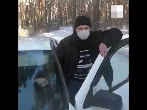 Жители блокировали медицинскую машину на въезде в карантинный центр под Челябинском | 74.RU