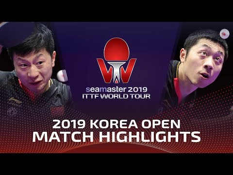 Ma Long Vs Xu Xin | 2019 ITTF Korea Open Highlights (Final)
