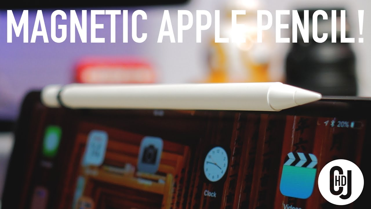 magnetically mount your apple pencil pencil magnet by moxiware