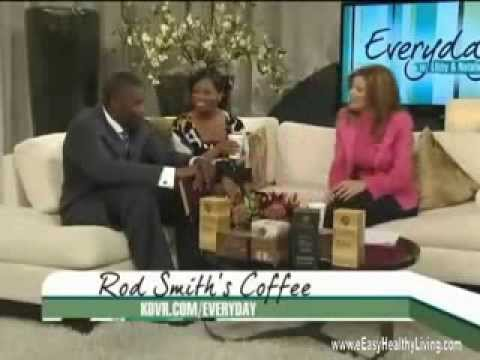Former Denver Broncos Wide Receiver Rod Smith talks about Organo Gold Healthy Coffee on Fox