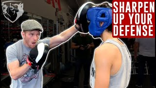 Boxing Defense Drills: Keep Eyes Open & Defend Punches