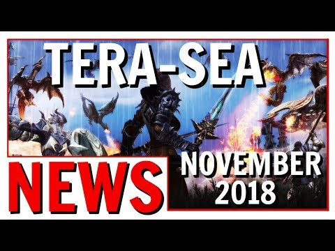 TERA Launching In Southeast Asia November 2018 | TERA SEA Is Coming
