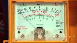 1800 IN Измеритель сопротивления изоляции, мегаомметр(, 2014-05-05T15:13:29.000Z)