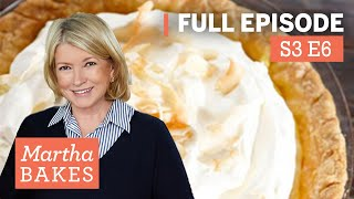 Martha Stewart's Key Lime Pie Recipe + Peach and Coconut Pie | Martha Bakes Classic Episodes