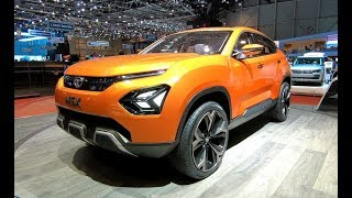 TATA H5X SUV CONCEPT CAR NEW MODEL 2018 WALKAROUND