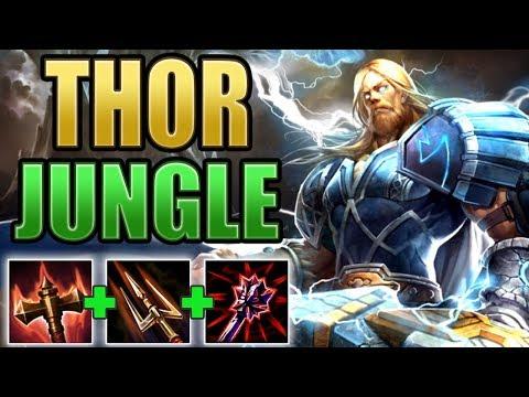 SMITE: Thor Jungle Gameplay | Back To Basics!