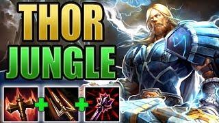 SMITE: Thor Jungle Gameplay   Back To Basics!