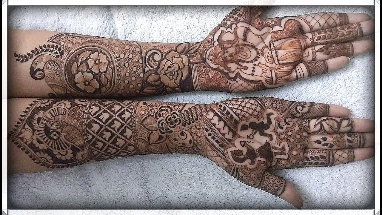 Bridal Mehndi Design Book : Bridal mehndi design book how to apply easy simple