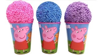Peppa Pig Surprise Eggs Peppa Pig Ice Creams Disney Princess Minnie Mouse Spider-Man Eggs